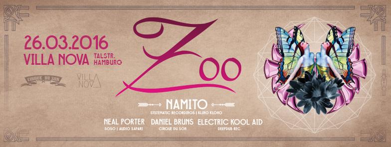 ZOO feat. Namito, Neal Porter, Daniel Bruns, Electric Kool Aid